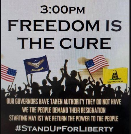freedom is the cure